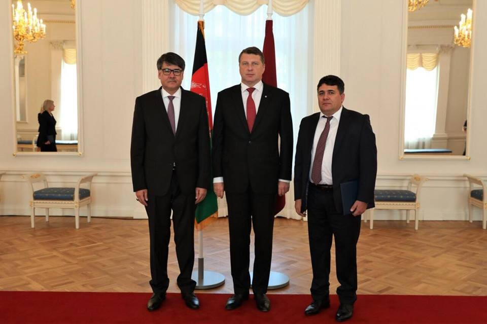 The Ambassador of Afghanistan presented his Credentials letters to ... 3d41482293c