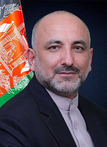 acting foreign minister mohammad haneef atmar